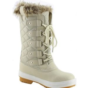 Shoes - Quilted Snow Winter Boots